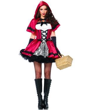 Costume di Cappuccetto rosso per donna
