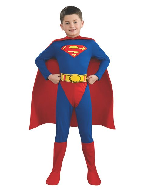 Fato de Super-Homem super-herói para menino