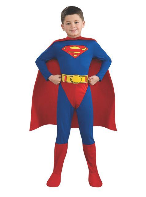 スーパーマンスーパーヒーローチャイルドコスチューム