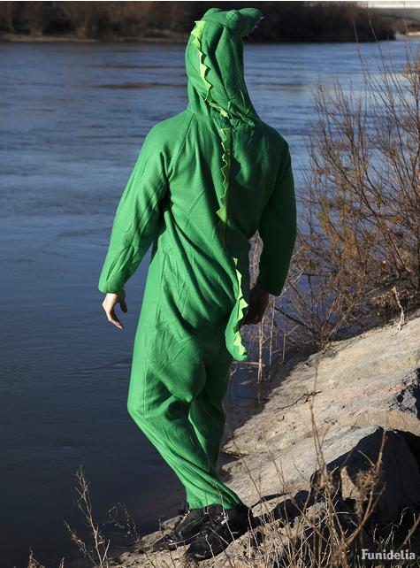 Kostým krokodíla pre dospelých