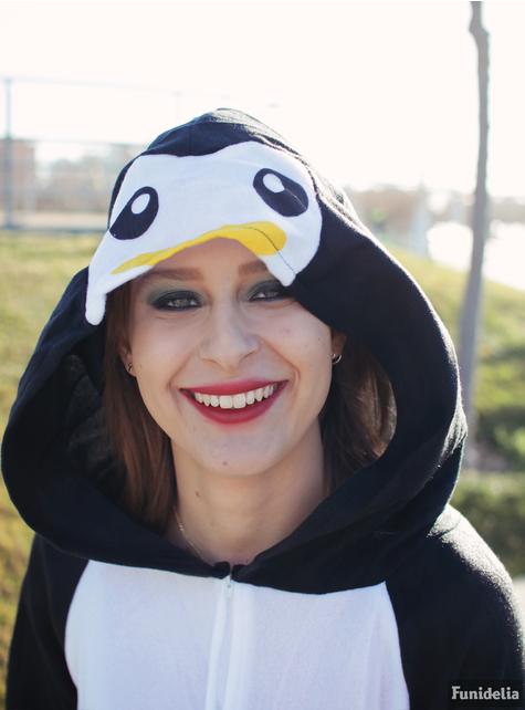Disfraz pijama de pingüino adorable para mujer