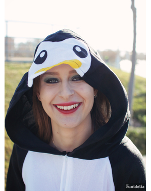 Costume pigiama da pinguino adorabile donna