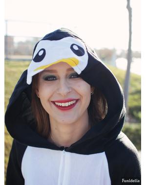 Déguisement pingouin onesie femme