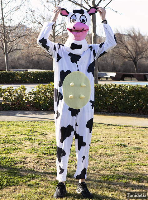 Déguisement vache laitière adulte