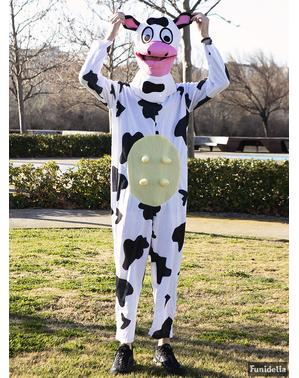 Strój mleczna krowa dla dorosłych