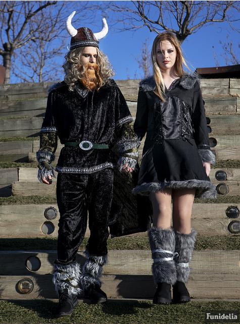 Fato de viking elegante para mulher
