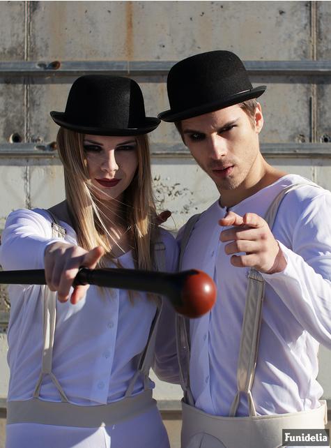 Chapéu de coco para adulto - A Laranja Mecânica