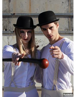 Bowler hoed voor volwassenen - AClockwork Orange