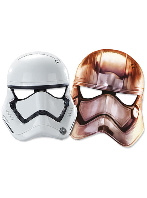 Conjunto de 6 máscaras Star Wars: O Despertar da Força
