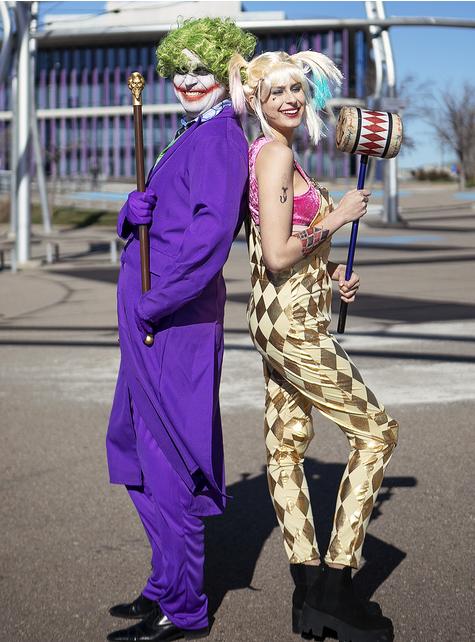 Kostium Harley Quinn dla kobiet - Ptaki Nocy