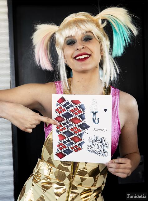Strój Harley Quinn dla kobiet - Ptaki Nocy