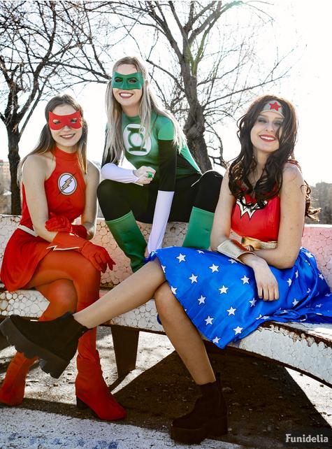 Disfraz de Flash para mujer