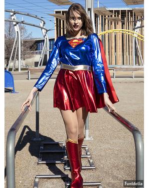 Seksualus Supergirl kostiumas