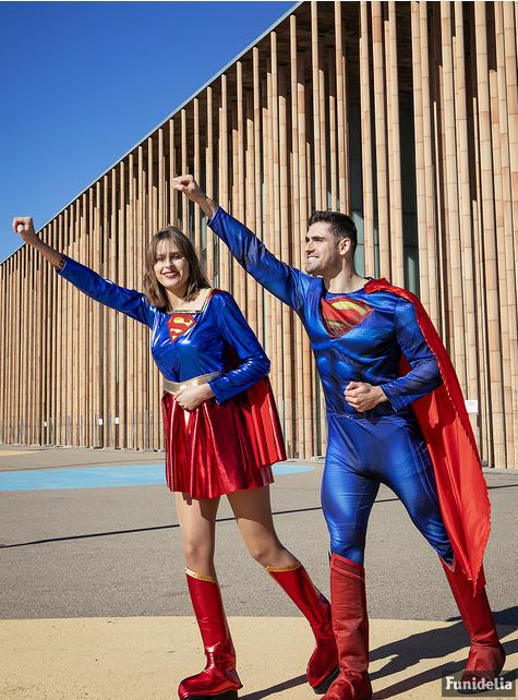 Seksowny kostium Supergirl