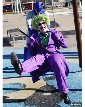 Joker pruik voor mannen - The Dark Knight
