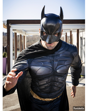 Kostým Batman plusová veľkosť