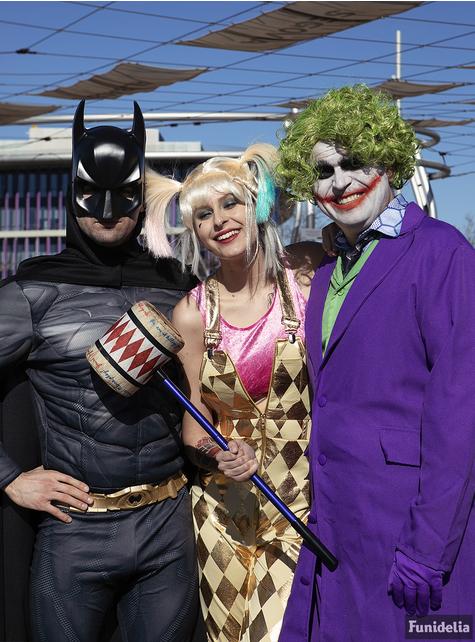 Grote maat Batman kostuum