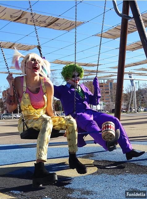 Disfraz de Joker talla grande - El Caballero Oscuro