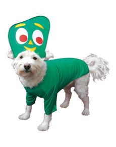 Disfraz de Gumby para perro