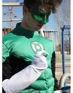 Strój Green Lantern dla mężczyzn duży rozmiar