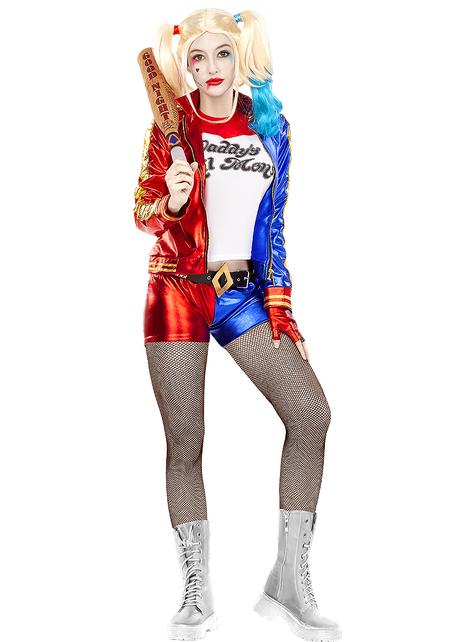 Disfraz de Harley Quinn talla grande  - Escuadrón Suicida