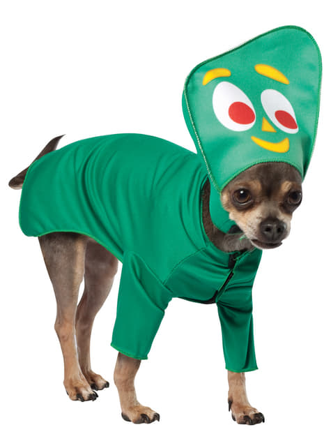 Dog's Gumby Costume