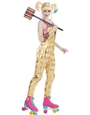 Harley Quinn Costume fyrir konur - ránfugla
