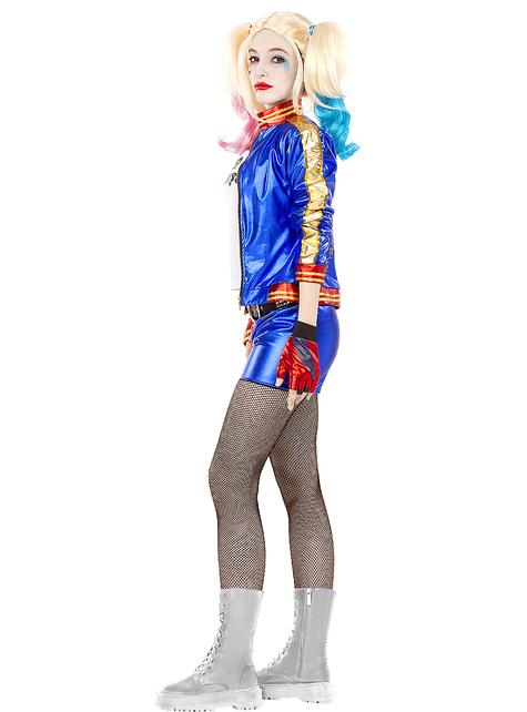 Funidelia Suicide Squad Officielle pour Femme Taille L ▶ Super h/éros Blanches D/éguisement Harley Quinn Suicide Squad DC Comics M/échants