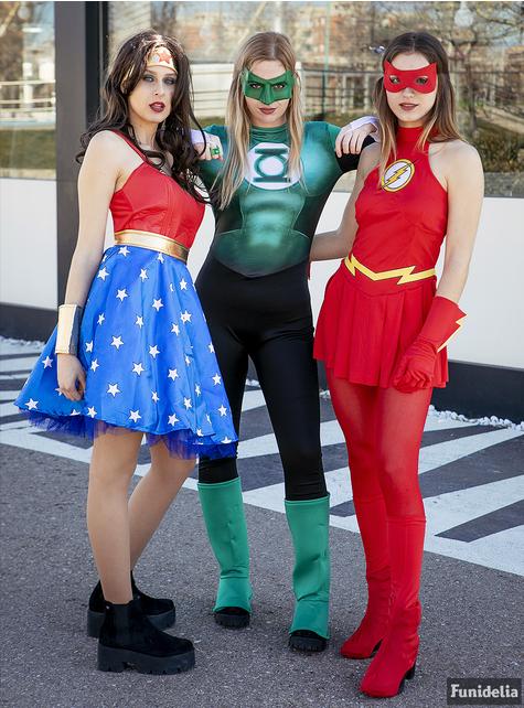 Flash Kostüm für Damen
