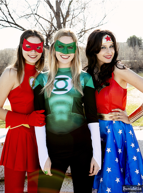 Flash costume for women