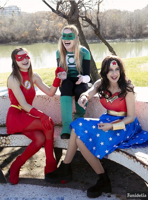 Strój Green Lantern dla kobiet