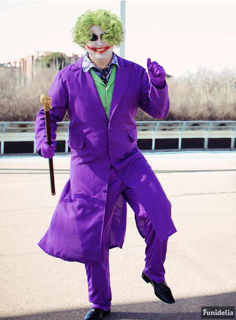 Joker kostume - The Dark Knight