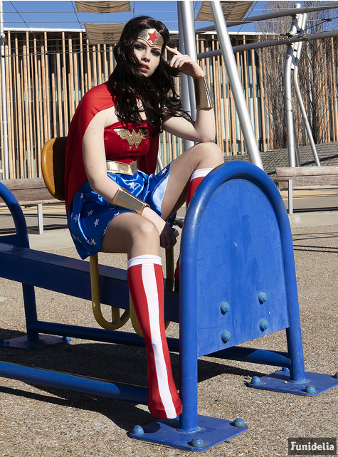 Sexy Wonder Woman kostuum