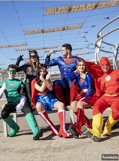 Γυναικεία στολή Supergirl σε μεγάλα μεγέθη