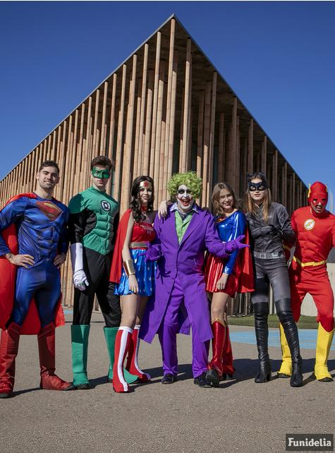Disfraz de Supergirl para mujer talla grande