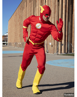 Fato de Flash tamanho grande