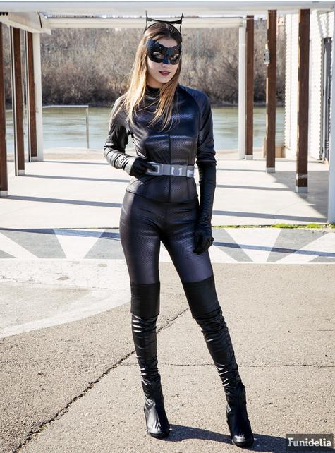 Grote maat Catwoman kostuum