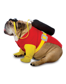 Disfraz de submarinista para perro