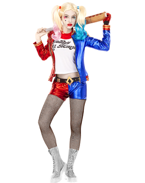 Harley Quinn plus size kostyme - Suicide Squad