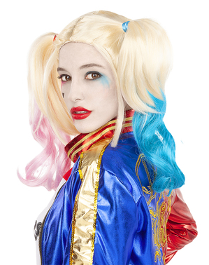 Perruque Harley Quinn - Suicide Squad