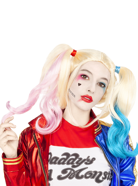 Harley Quinn Parykk - Suicide Squad