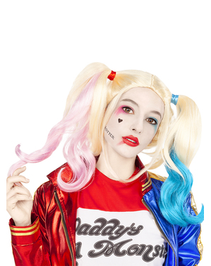 Harley Quinn Perücke - Suicide Squad
