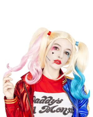 Harley Quinn perukki - Suicide Squad
