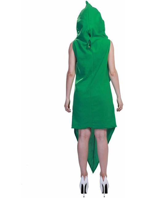 Disfraz de guisante gigante para adulto