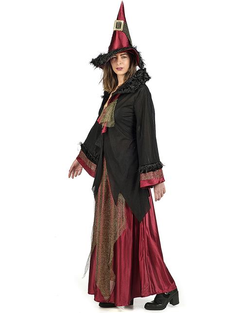 大人用チャーミングな魔女衣装