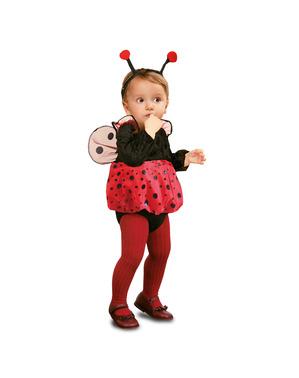 Mini Marienkäfer Kostüm für Babys