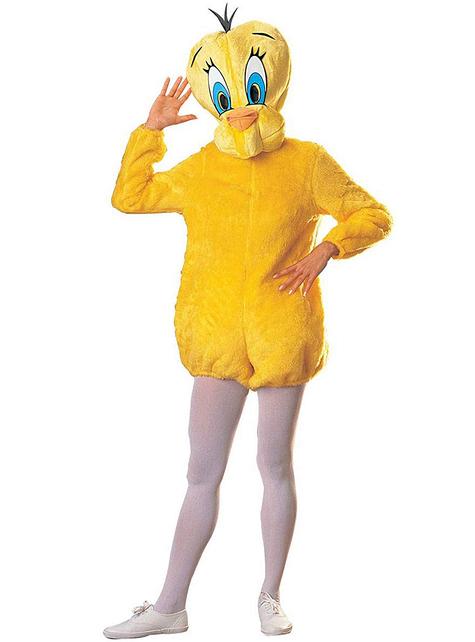 Deluxe Looney Tunes Tweety φορεσιά για ενήλικες