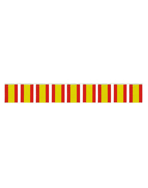 50m Large Spanish Flags Bunting