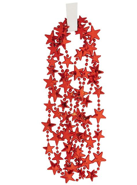 Червона зірка намисто