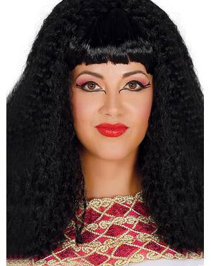 Peluca pop star morena para mujer